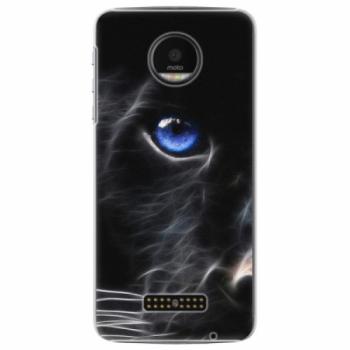 Plastové pouzdro iSaprio - Black Puma - Lenovo Moto Z