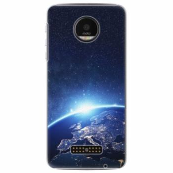 Plastové pouzdro iSaprio - Earth at Night - Lenovo Moto Z