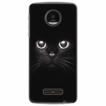 Plastové pouzdro iSaprio - Black Cat - Lenovo Moto Z