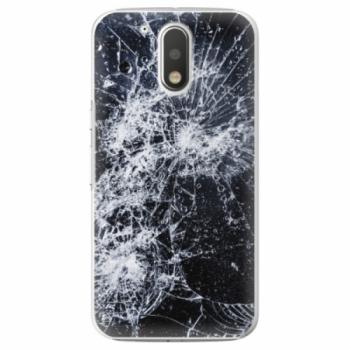 Plastové pouzdro iSaprio - Cracked - Lenovo Moto G4 / G4 Plus