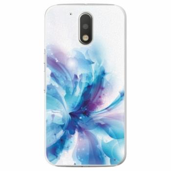 Plastové pouzdro iSaprio - Abstract Flower - Lenovo Moto G4 / G4 Plus