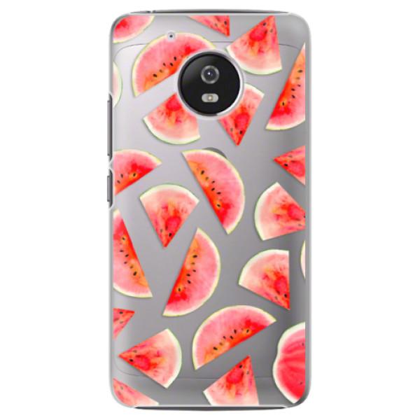 Plastové pouzdro iSaprio - Melon Pattern 02 - Lenovo Moto G5