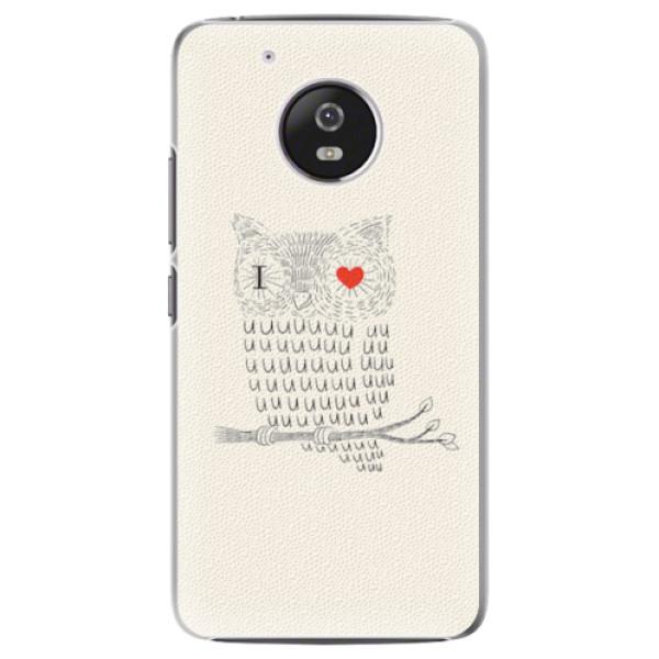 Plastové pouzdro iSaprio - I Love You 01 - Lenovo Moto G5