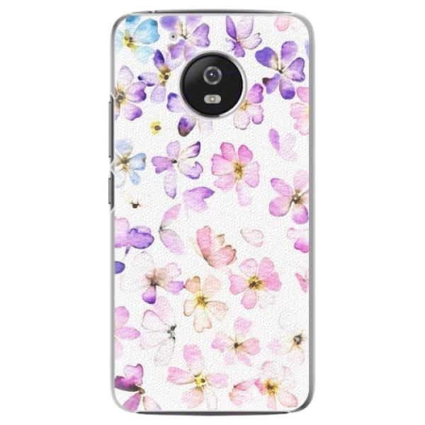 Plastové pouzdro iSaprio - Wildflowers - Lenovo Moto G5