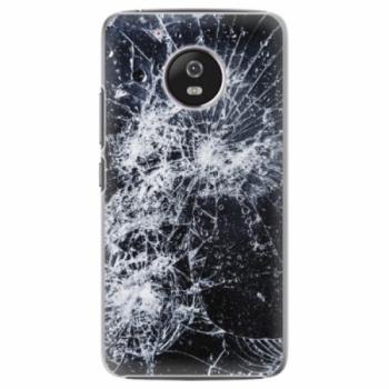 Plastové pouzdro iSaprio - Cracked - Lenovo Moto G5