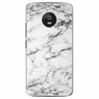 Plastové pouzdro iSaprio - White Marble 01 - Lenovo Moto G5