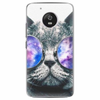 Plastové pouzdro iSaprio - Galaxy Cat - Lenovo Moto G5