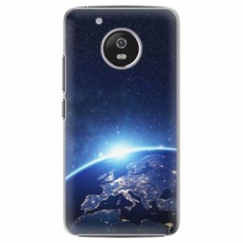 Plastové pouzdro iSaprio - Earth at Night - Lenovo Moto G5