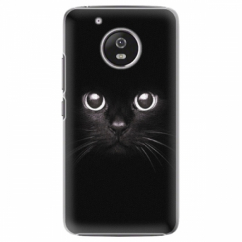 Plastové pouzdro iSaprio - Black Cat - Lenovo Moto G5
