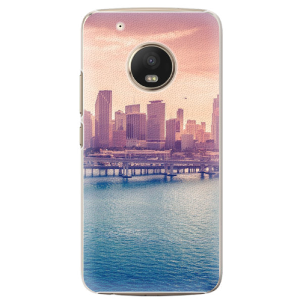 Plastové pouzdro iSaprio - Morning in a City - Lenovo Moto G5 Plus
