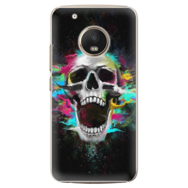 Plastové pouzdro iSaprio - Skull in Colors - Lenovo Moto G5 Plus