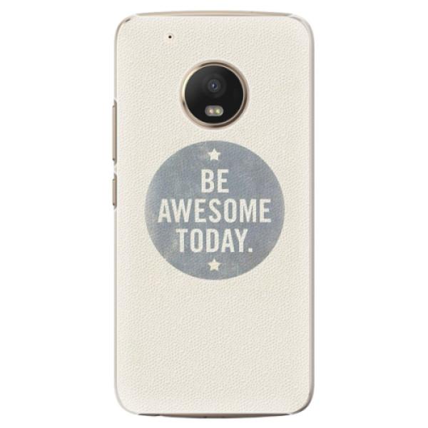 Plastové pouzdro iSaprio - Awesome 02 - Lenovo Moto G5 Plus