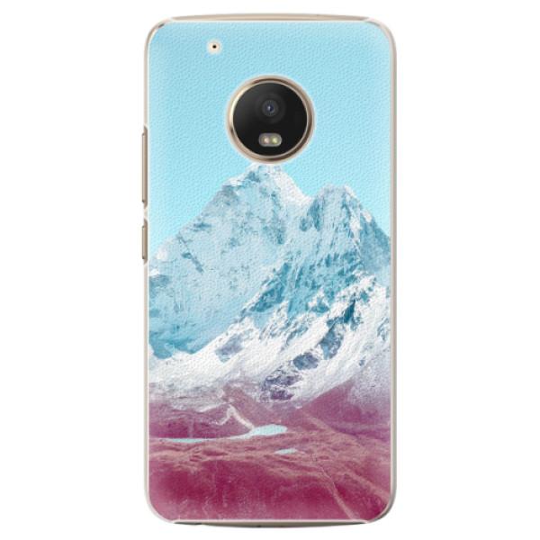 Plastové pouzdro iSaprio - Highest Mountains 01 - Lenovo Moto G5 Plus