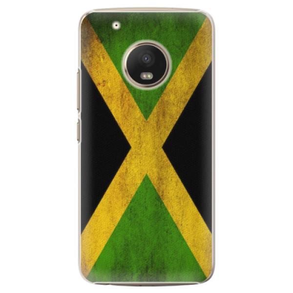 Plastové pouzdro iSaprio - Flag of Jamaica - Lenovo Moto G5 Plus