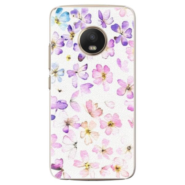 Plastové pouzdro iSaprio - Wildflowers - Lenovo Moto G5 Plus