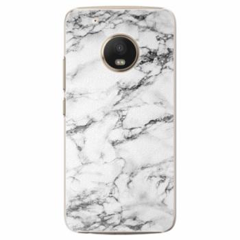 Plastové pouzdro iSaprio - White Marble 01 - Lenovo Moto G5 Plus