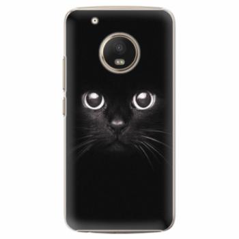 Plastové pouzdro iSaprio - Black Cat - Lenovo Moto G5 Plus