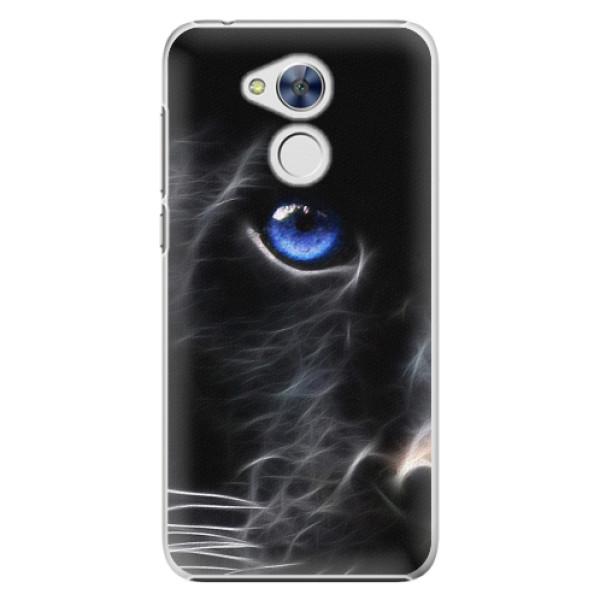 Plastové pouzdro iSaprio - Black Puma - Huawei Honor 6A
