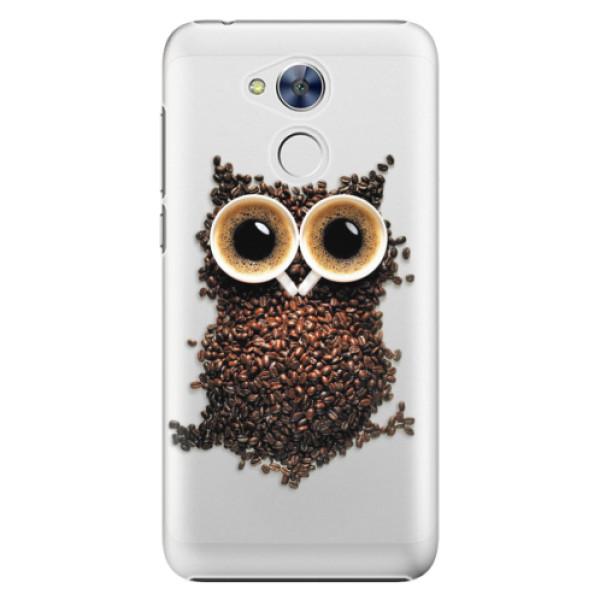 Plastové pouzdro iSaprio - Owl And Coffee - Huawei Honor 6A