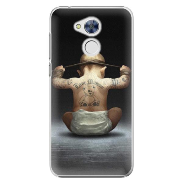 Plastové pouzdro iSaprio - Crazy Baby - Huawei Honor 6A