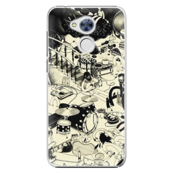 Plastové pouzdro iSaprio - Underground - Huawei Honor 6A