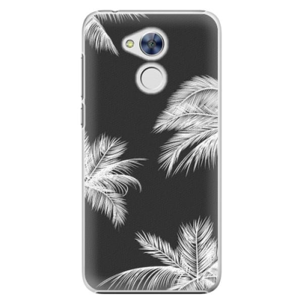 Plastové pouzdro iSaprio - White Palm - Huawei Honor 6A