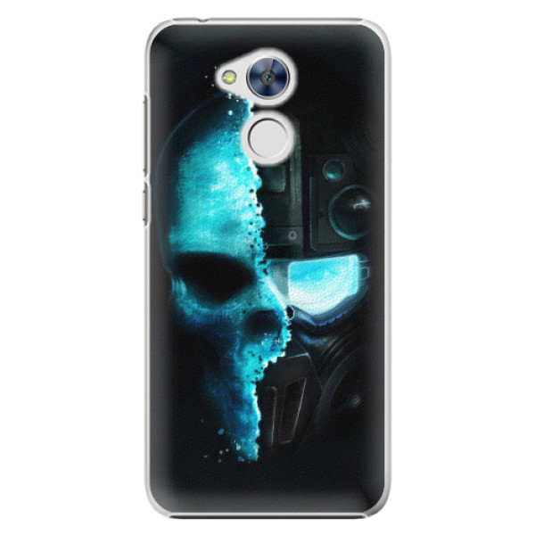Plastové pouzdro iSaprio - Roboskull - Huawei Honor 6A