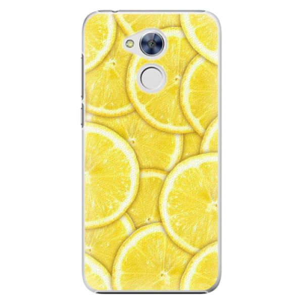 Plastové pouzdro iSaprio - Yellow - Huawei Honor 6A