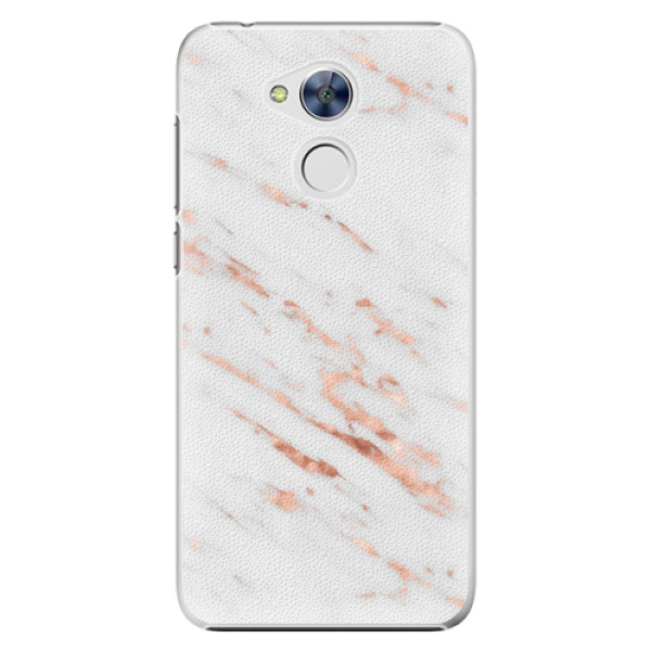 Plastové pouzdro iSaprio - Rose Gold Marble - Huawei Honor 6A