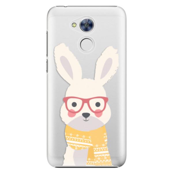 Plastové pouzdro iSaprio - Smart Rabbit - Huawei Honor 6A