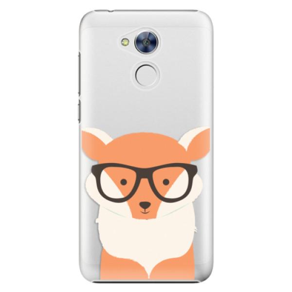 Plastové pouzdro iSaprio - Orange Fox - Huawei Honor 6A