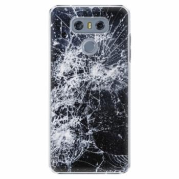 Plastové pouzdro iSaprio - Cracked - LG G6 (H870)