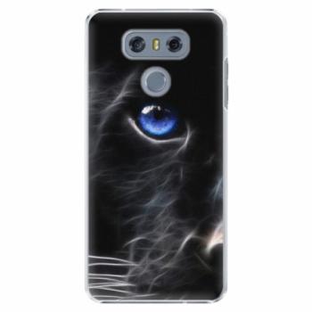 Plastové pouzdro iSaprio - Black Puma - LG G6 (H870)