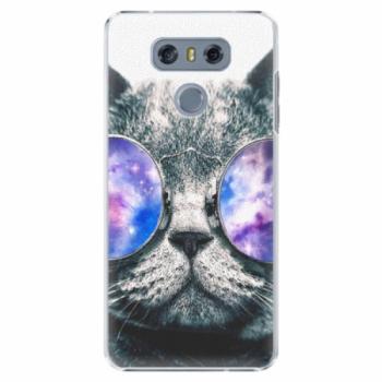 Plastové pouzdro iSaprio - Galaxy Cat - LG G6 (H870)