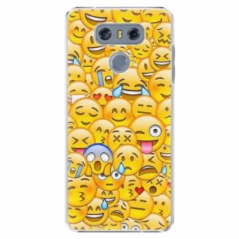 Plastové pouzdro iSaprio - Emoji - LG G6 (H870)