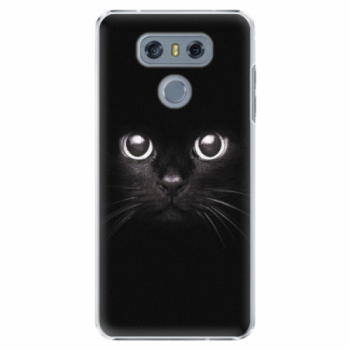 Plastové pouzdro iSaprio - Black Cat - LG G6 (H870)