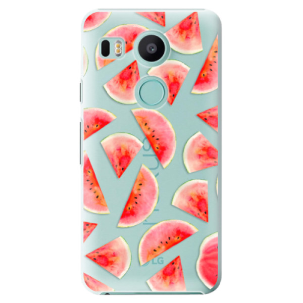 Plastové pouzdro iSaprio - Melon Pattern 02 - LG Nexus 5X