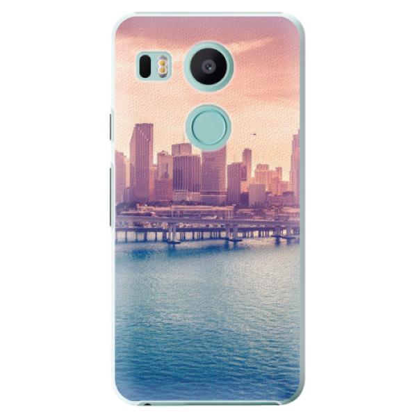 Plastové pouzdro iSaprio - Morning in a City - LG Nexus 5X