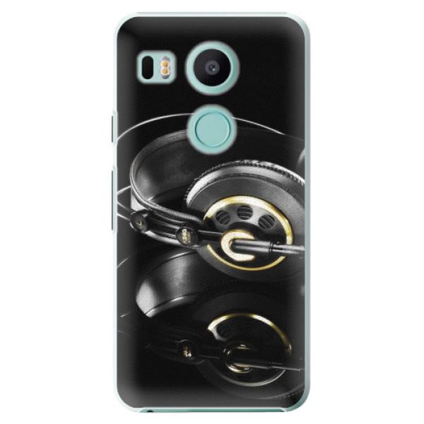 Plastové pouzdro iSaprio - Headphones 02 - LG Nexus 5X