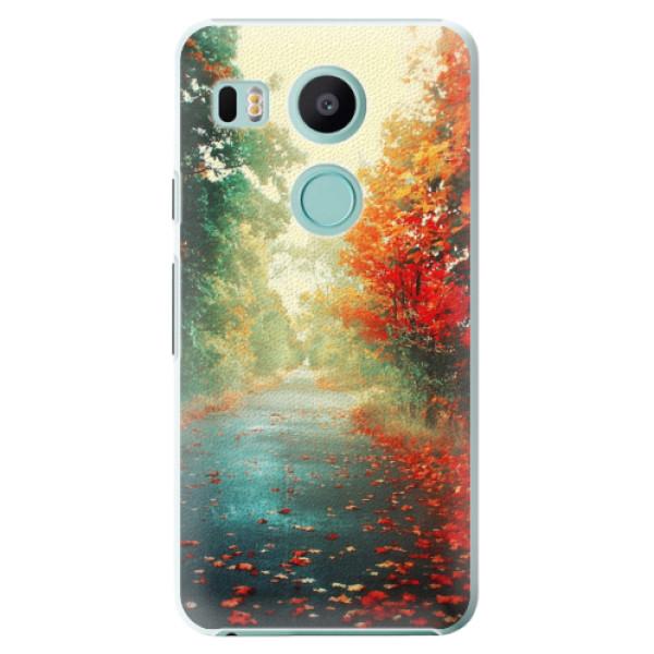 Plastové pouzdro iSaprio - Autumn 03 - LG Nexus 5X