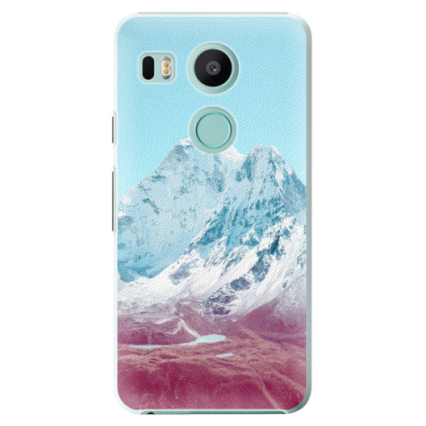 Plastové pouzdro iSaprio - Highest Mountains 01 - LG Nexus 5X
