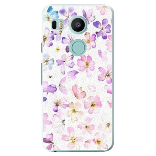 Plastové pouzdro iSaprio - Wildflowers - LG Nexus 5X