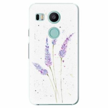 Plastové pouzdro iSaprio - Lavender - LG Nexus 5X
