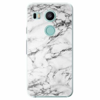 Plastové pouzdro iSaprio - White Marble 01 - LG Nexus 5X