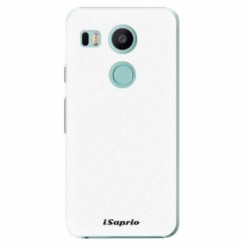 Plastové pouzdro iSaprio - 4Pure - bílý - LG Nexus 5X