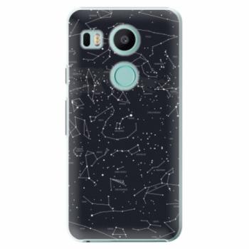 Plastové pouzdro iSaprio - Night Sky 01 - LG Nexus 5X