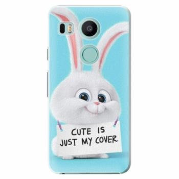 Plastové pouzdro iSaprio - My Cover - LG Nexus 5X