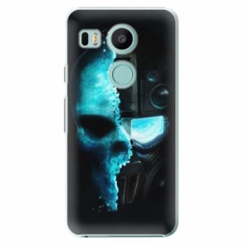 Plastové pouzdro iSaprio - Roboskull - LG Nexus 5X