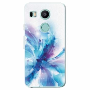 Plastové pouzdro iSaprio - Abstract Flower - LG Nexus 5X
