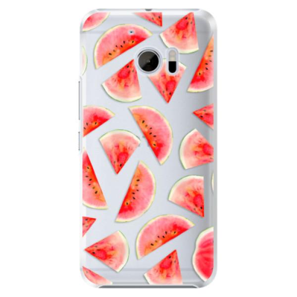 Plastové pouzdro iSaprio - Melon Pattern 02 - HTC 10